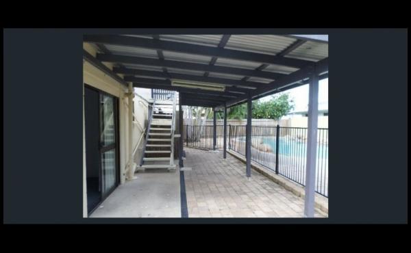 19 Valencia Street KIRWAN Rear Patio overlooking Pool 1