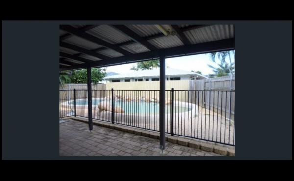 19 Valencia Street KIRWAN Rear Patio overlooking Pool 2
